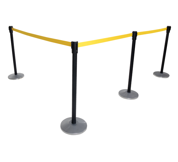 Vestil WEB-P Indoor Personnel Guidance Barriers