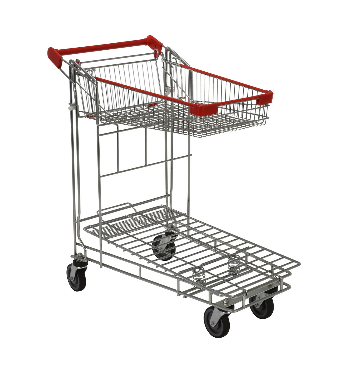 Vestil WIRE-S Nestable Wire Carts