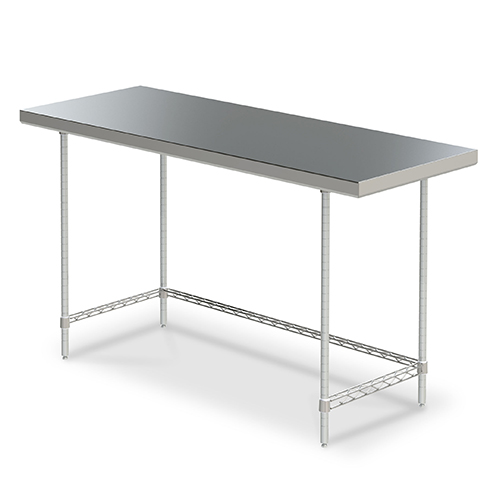 Metro Stationary Space Saver Worktables