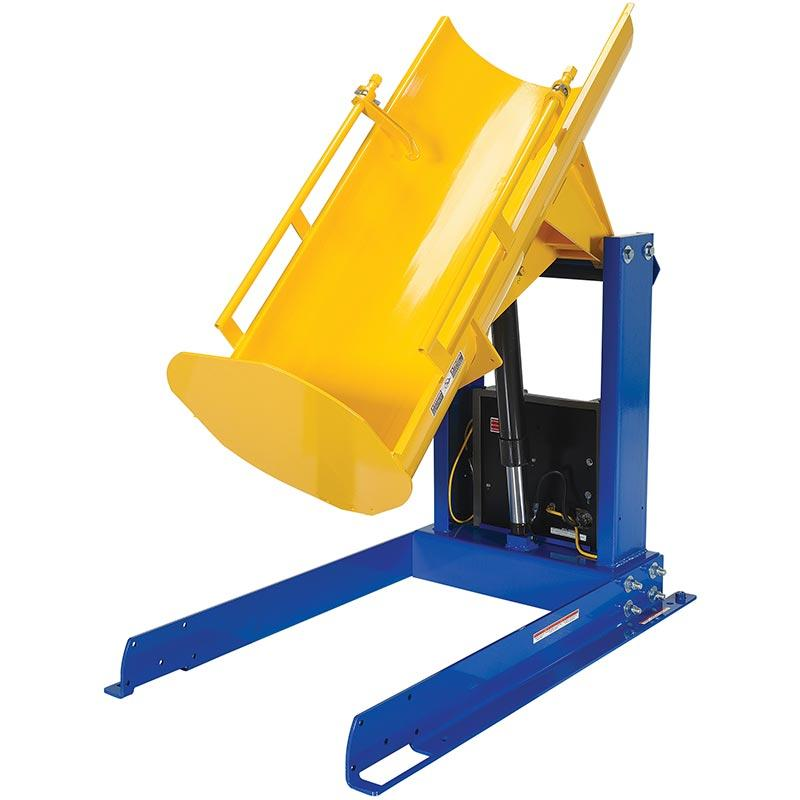 Vestil Stationary Hydraulic Drum Dumper