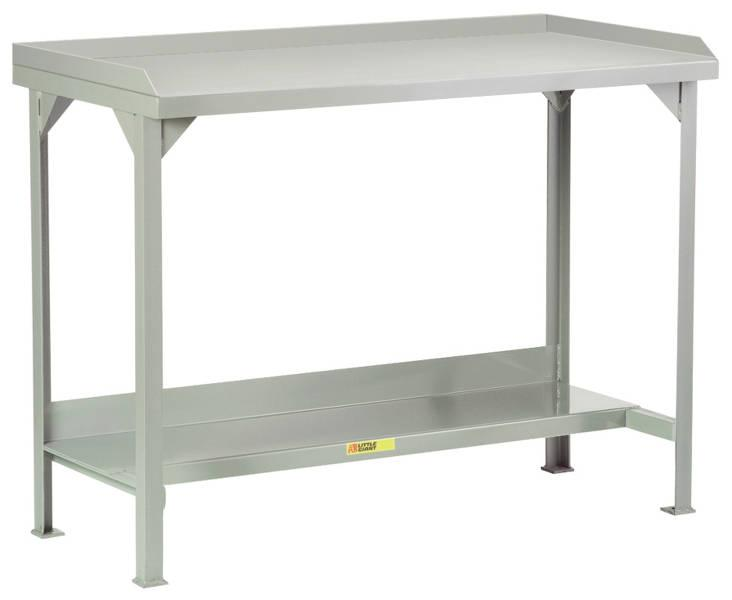 Little Giant Welded Steel Workbenches with Back and End Stops Model No. WSL2-2448-36