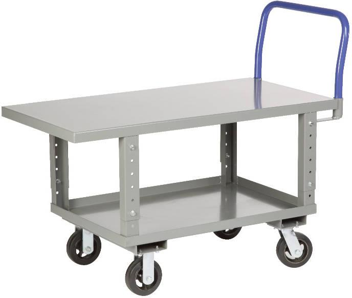 Little Giant Work Height Platform Truck with Lower Shelf - Steel Deck - Model No. RNB2-2448-6MR