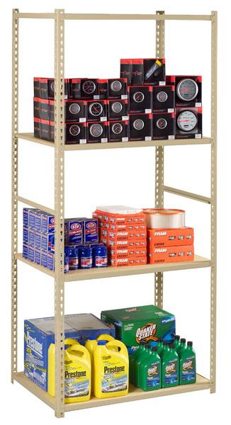 Z-Line Low Profile Shelving - No Decking