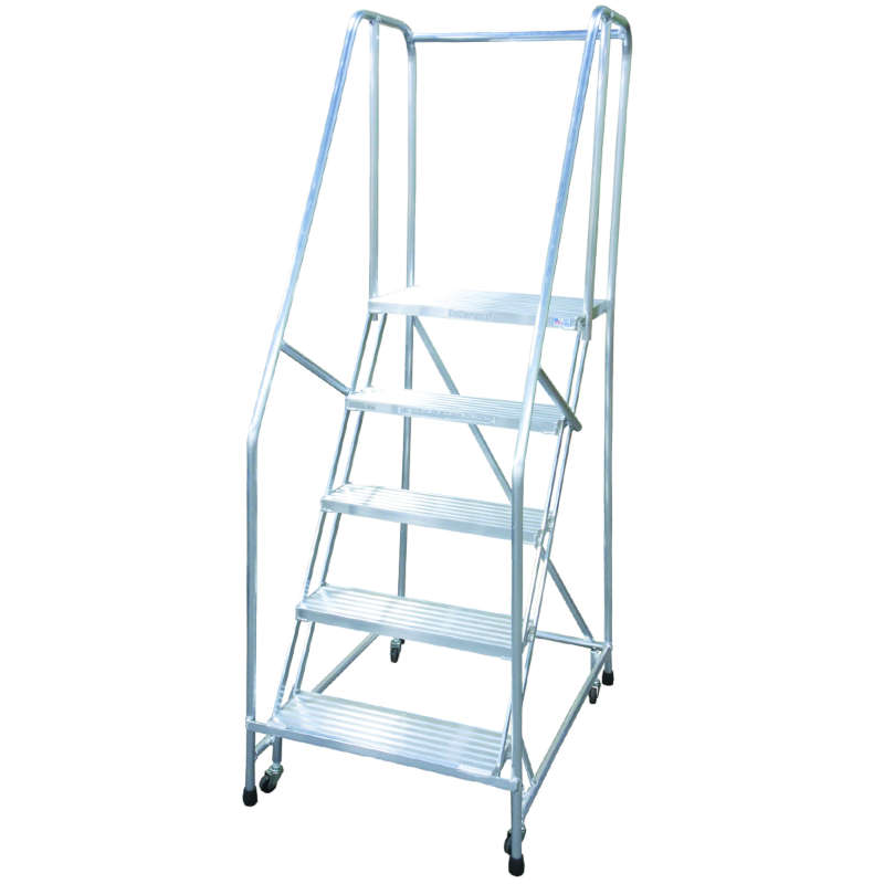 Cotterman Series A Welded Aluminum Ladders 16 Inch Tread Width