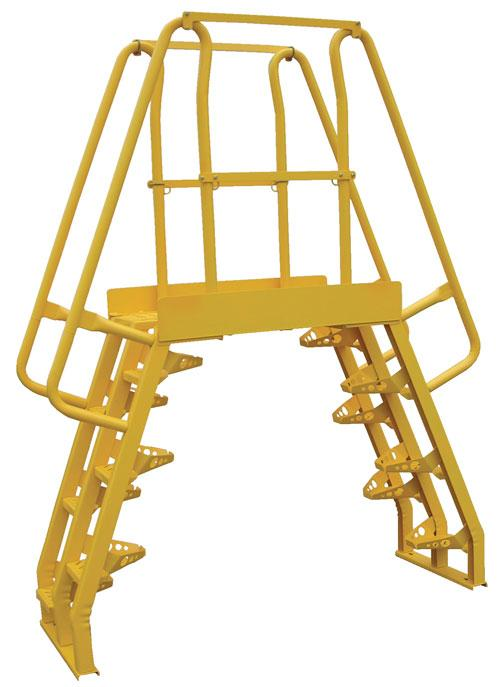 Vestil Alternating Step Cross-Over Ladder