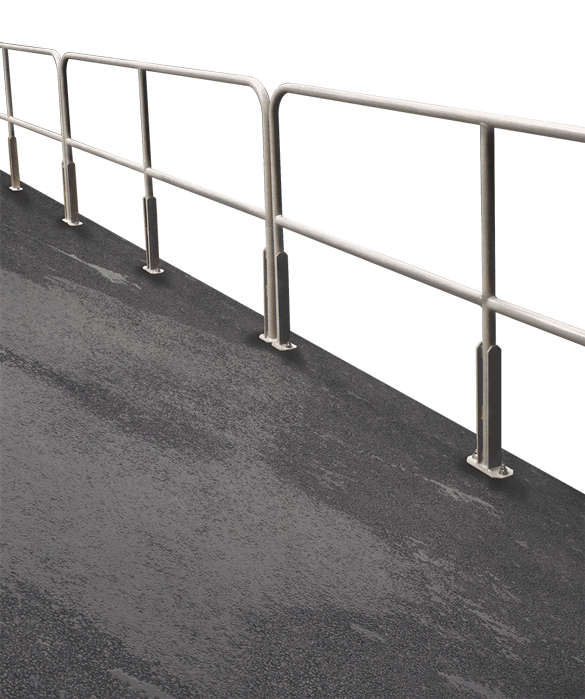 Cotterman Bolt-on Aluminum Railings