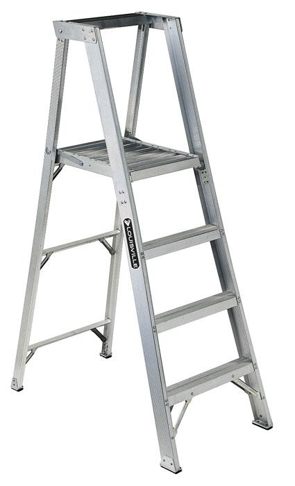 Vestil Aluminum Platform Ladder Model No. PFSL-4