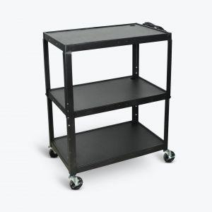 LUXOR Extra-Large Adjustable-Height Steel AV