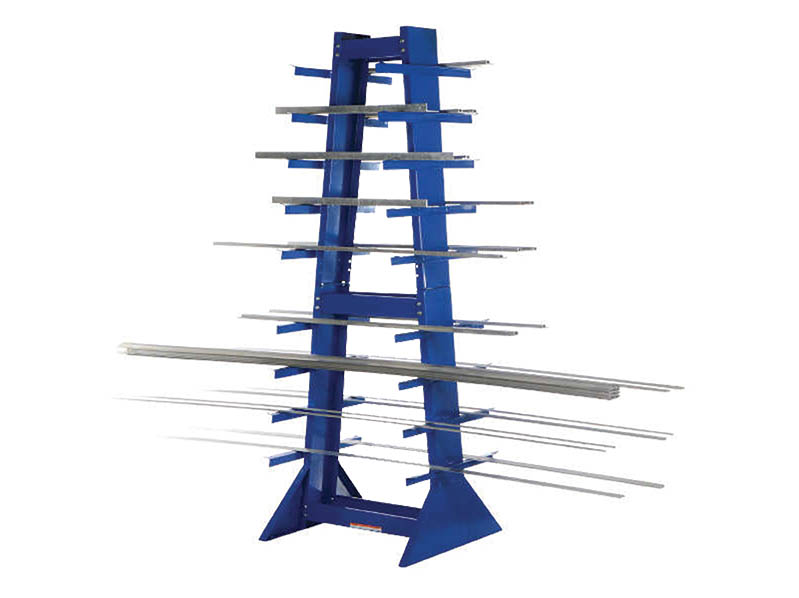 Double-Sided Horizontal Bar Rack Vestil