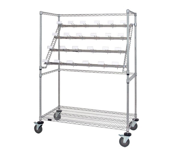 Catheter Hold and Store Cart