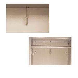 Tennsco Rods and Coat Hooks