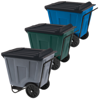 76491 Medium-Duty Akro-Cart with Lid