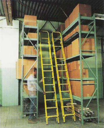 Dual Trak Ladder System - Rolls side to side