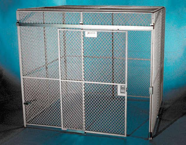 Jesco Wire Mesh Enclosures