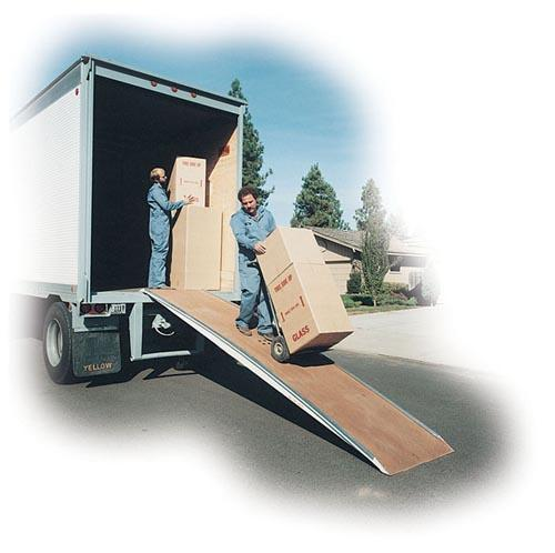 Vestil Heavy-Duty Fiberglass Walk Ramp