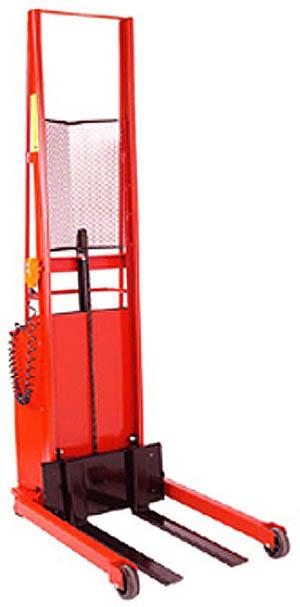 Wesco Fork Model Powered Stacker Model No. PESFL-76-30S