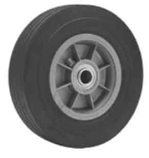 Nutting Flat-Proof Solid Cushion Rubber Tread Wheels