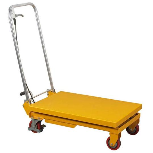 Folding Handle Scissor Lift Tables
