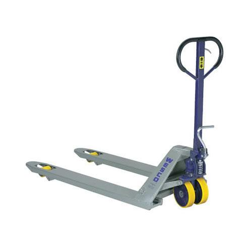 Foot Operated Deluxe Pallet Trucks