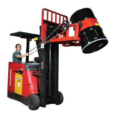 Wesco Fork Truck Drum Lifter and Tilter - DGF-55