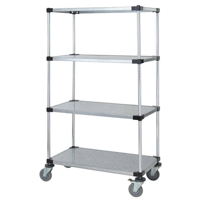 Quantum Genuine Quantum Mobile Carts Solid Shelf M1836SG46