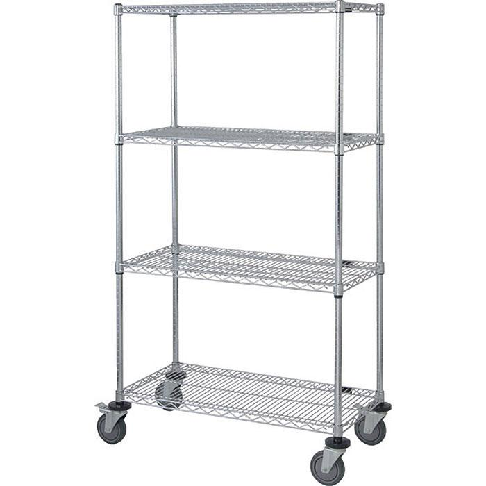 Quantum Genuine Mobile Carts with Stem Casters M1836C46