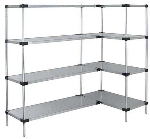 Quantum Genuine Quantum Solid Shelf Units Stainless Steel Add On Kit
