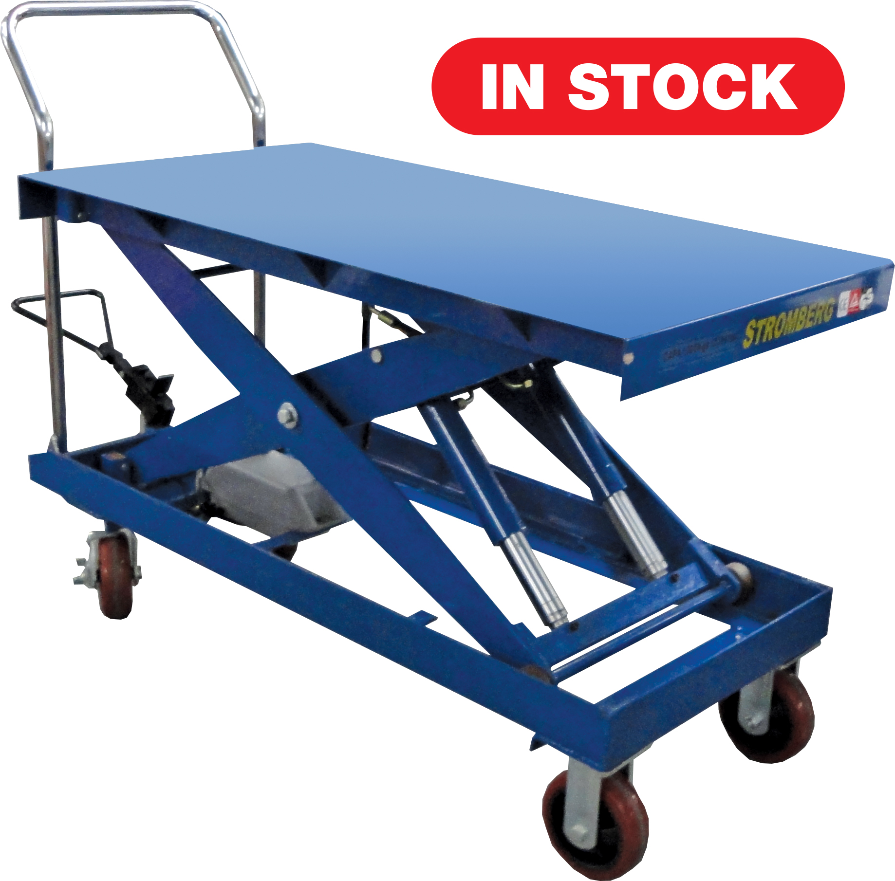 CTF-100D Hydraulic Elevating Carts - 2200 lb. Capacity