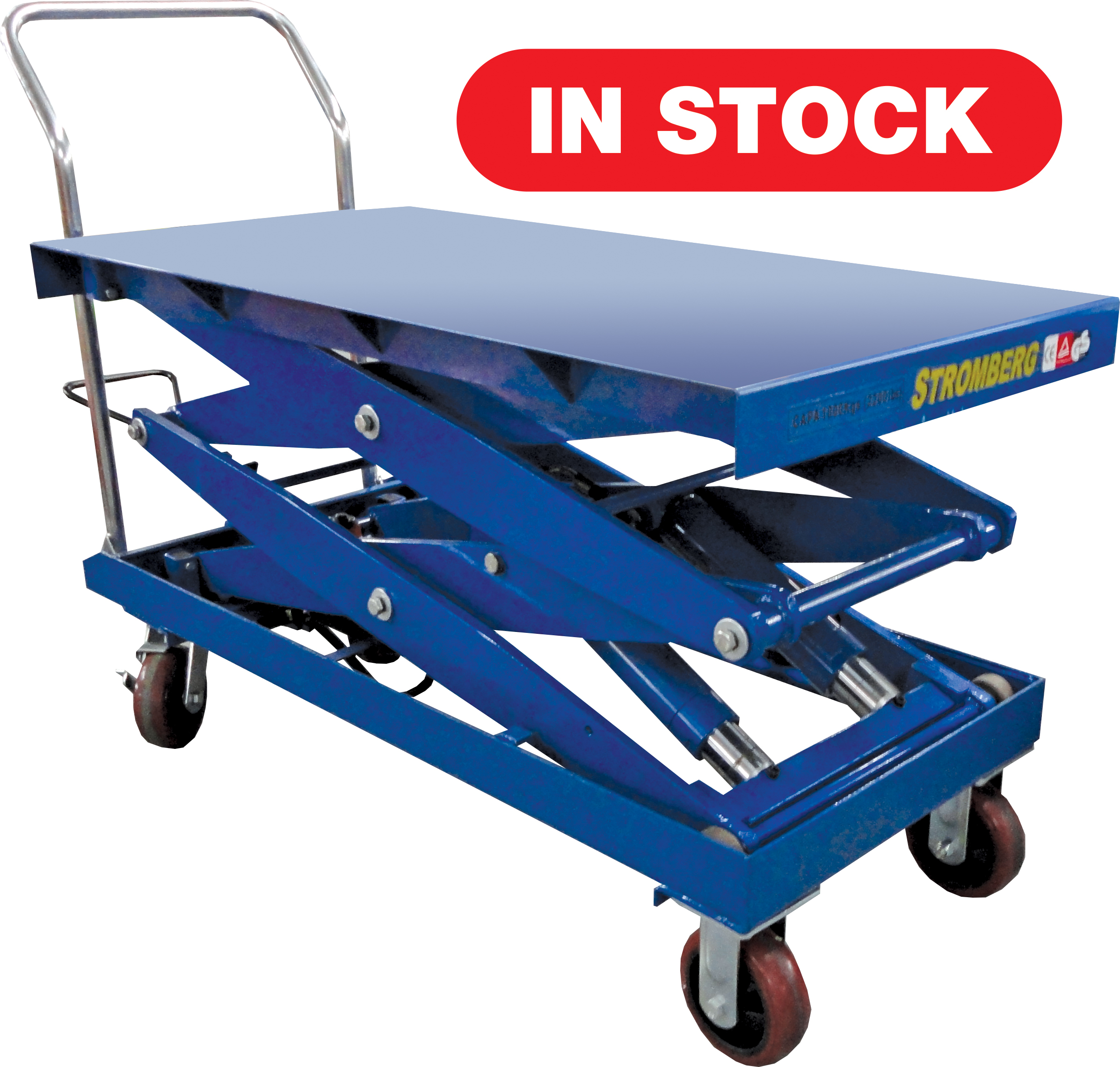 CTF-100SD Hydraulic Elevating Carts - 2200 lb. Capacity