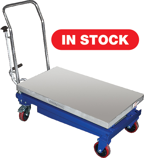 CTF-50A Hydraulic Elevating Carts - 1100 lb. Capacity
