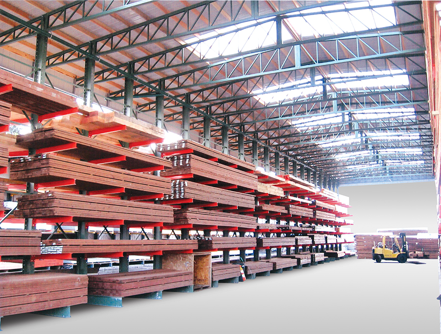 Material Flow Storage Rack Buildings New