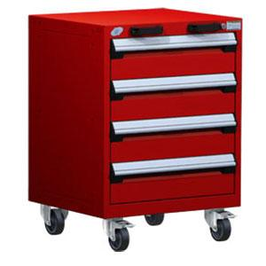 Heavy Duty Mobile Cabinet 24 Inch Wide