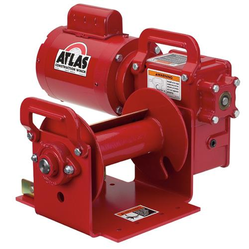 High Speed Worm Gear Power Winches