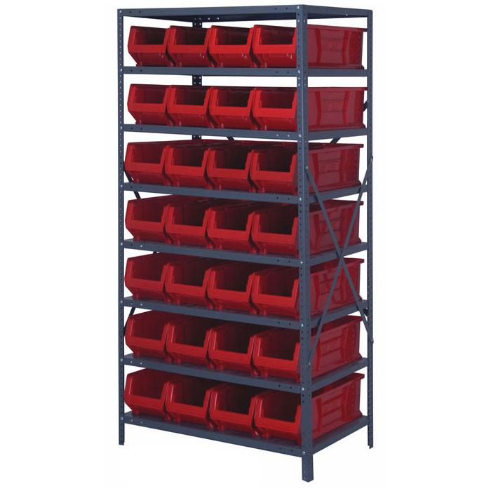 Quantum Hulk Shelving Systems Complete Package 2475-950
