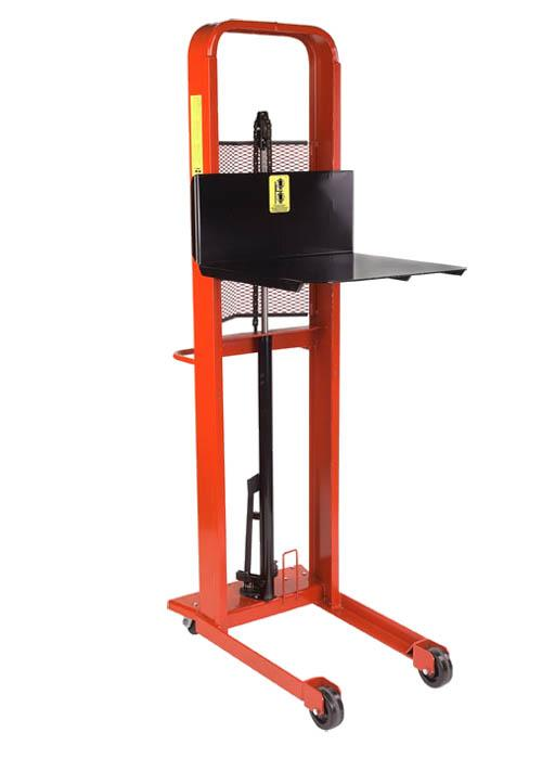 Wesco Hydraulic Stacker - Large Platform Model