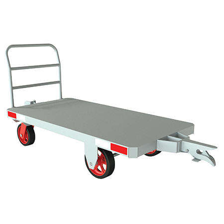Vestil Caster Steer Towable Trailer