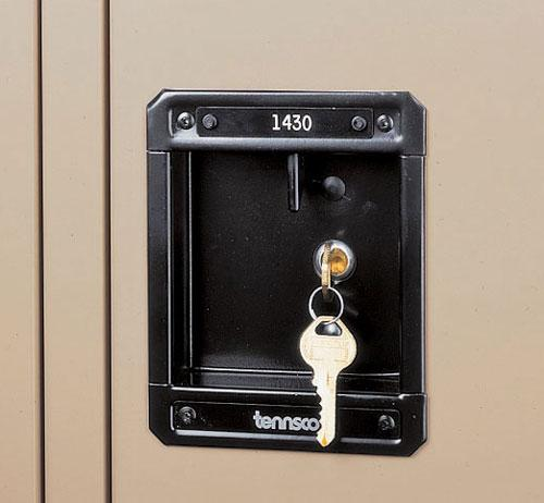 Tennsco Key for Master Lock