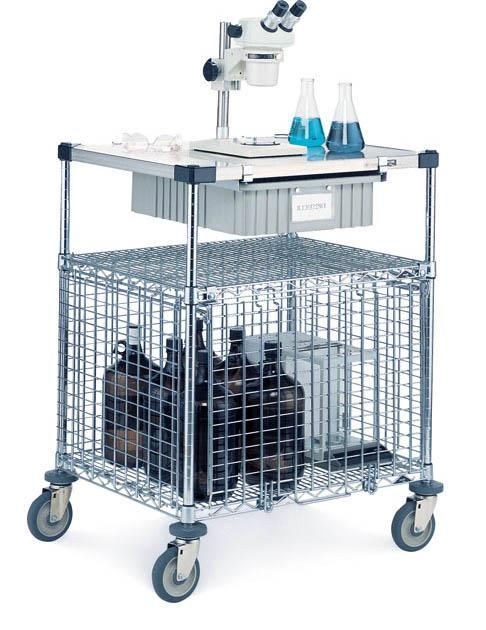 Metro Lab Security Cart