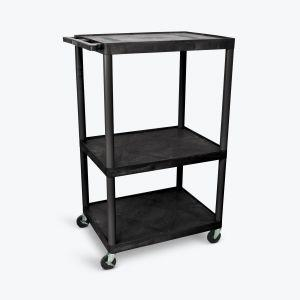 "LUXOR 54"" AV Cart - Three Shelves"