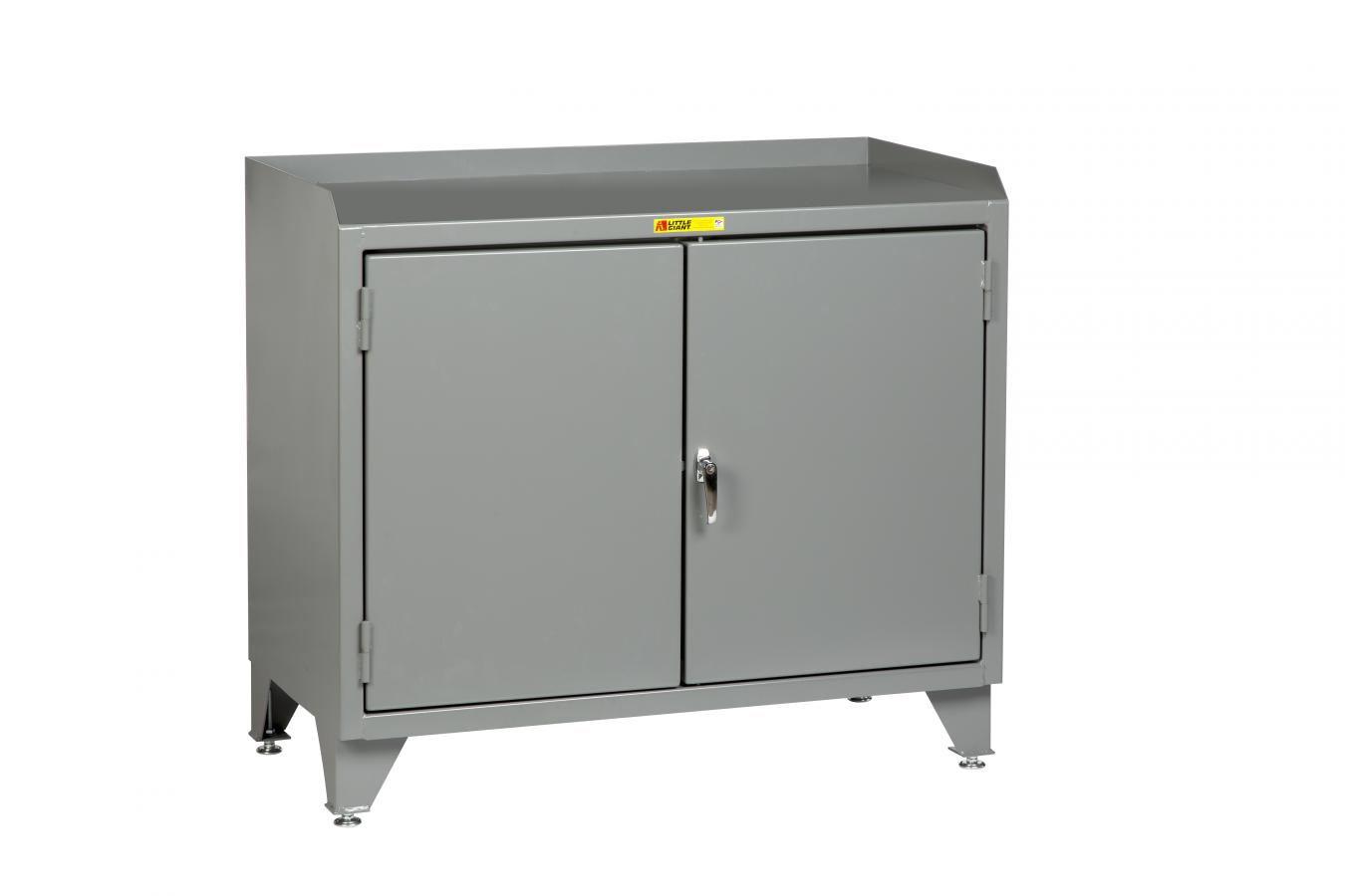 Little Giant Counter Height Bench Cabinet, Model MB3-LL-2D-2448