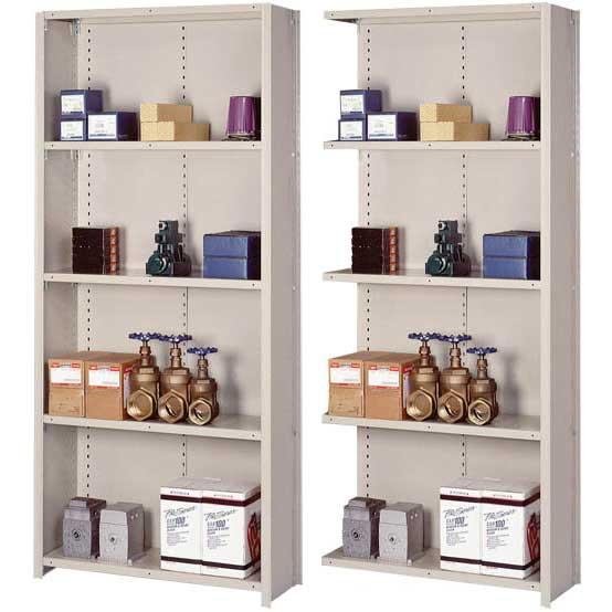 Lyon 8000 Series Closed Steel Shelving