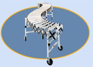 Medium Duty Accordion Roller Conveyors