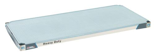 Metromax i Polymer Shelving heavy-duty shelf with solid mat