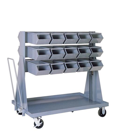 Mobile Bin Unit with 30 No. 2 Stackbins - Model 1-2MB3-30