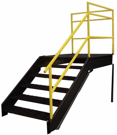 Modular Warehouse Stairs
