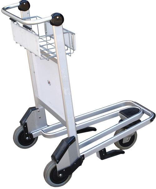 Vestil Nestable Multi-Use Cart with Brake Model No. LUG-B