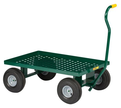 Little Giant Nursery Wagon - Perforated Deck - Model No. LWP-2436-10P-G
