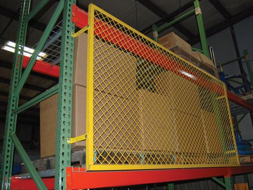 Vestil Pallet Rack Back Guard