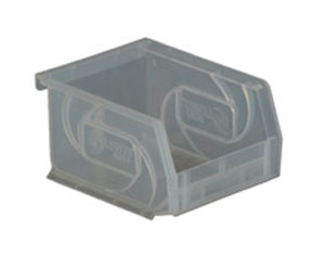 Lewis Bins PB1011-5 Parts Bin in clear
