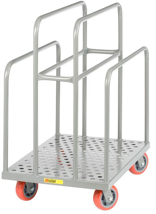 Little Giant Perforated Deck Lumber Cart Model No. LCP-2436-S-6PY